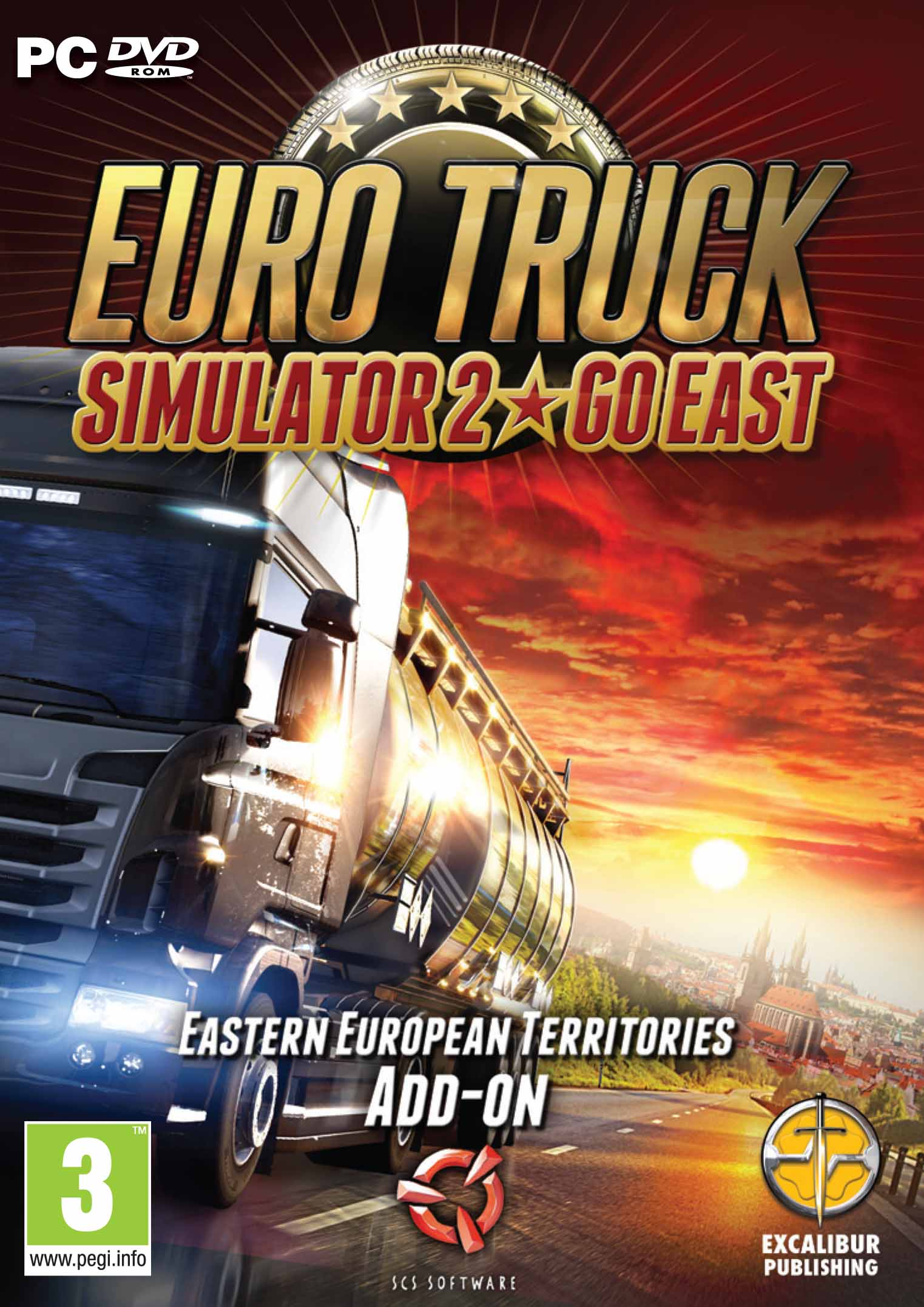 Euro Truck Simulator 2 - Go East add-on - PC / Mac