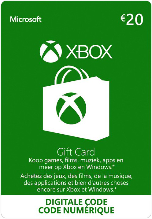 Xbox Gift Card €20
