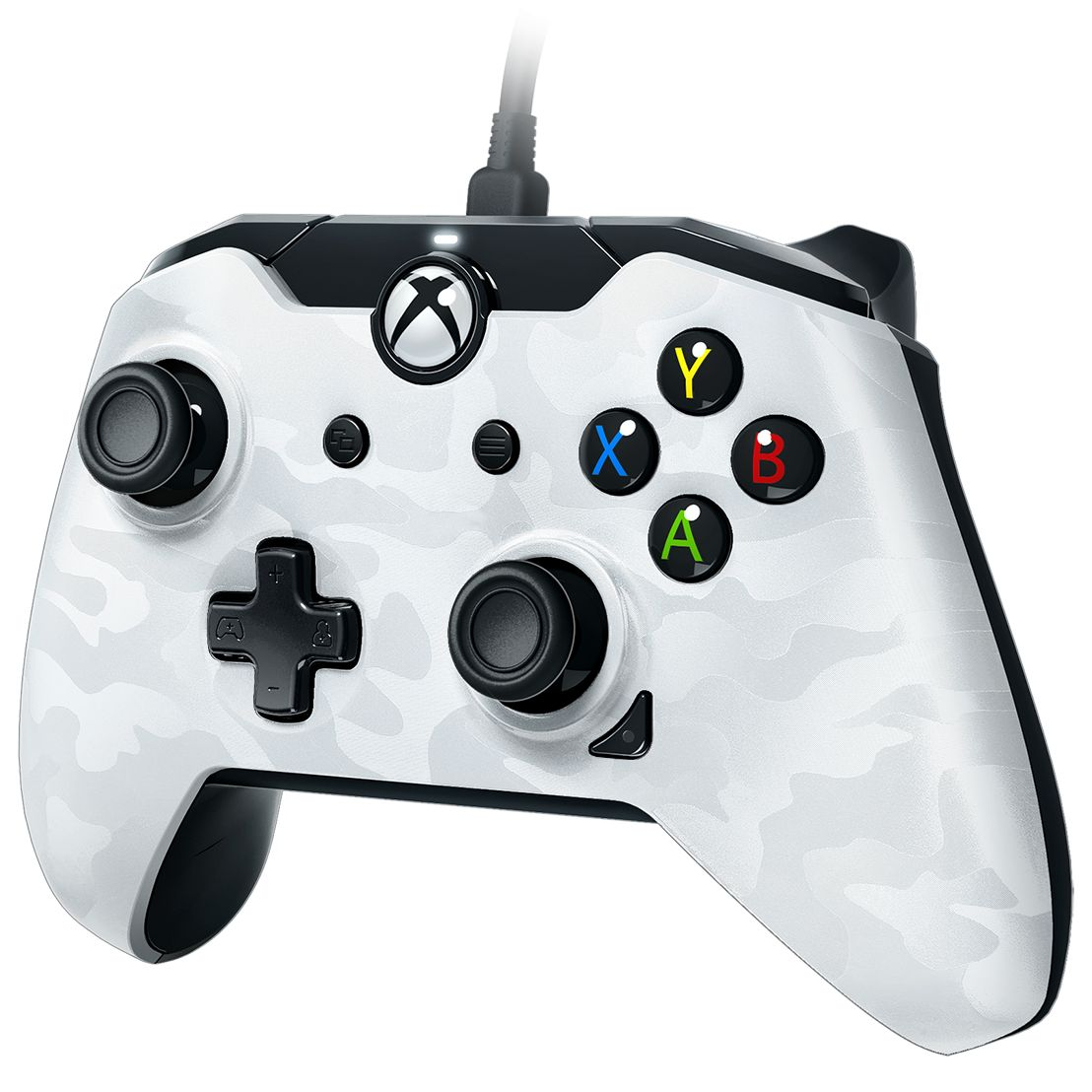 Xbox One/PC Bedrade Controller Wit / Camo