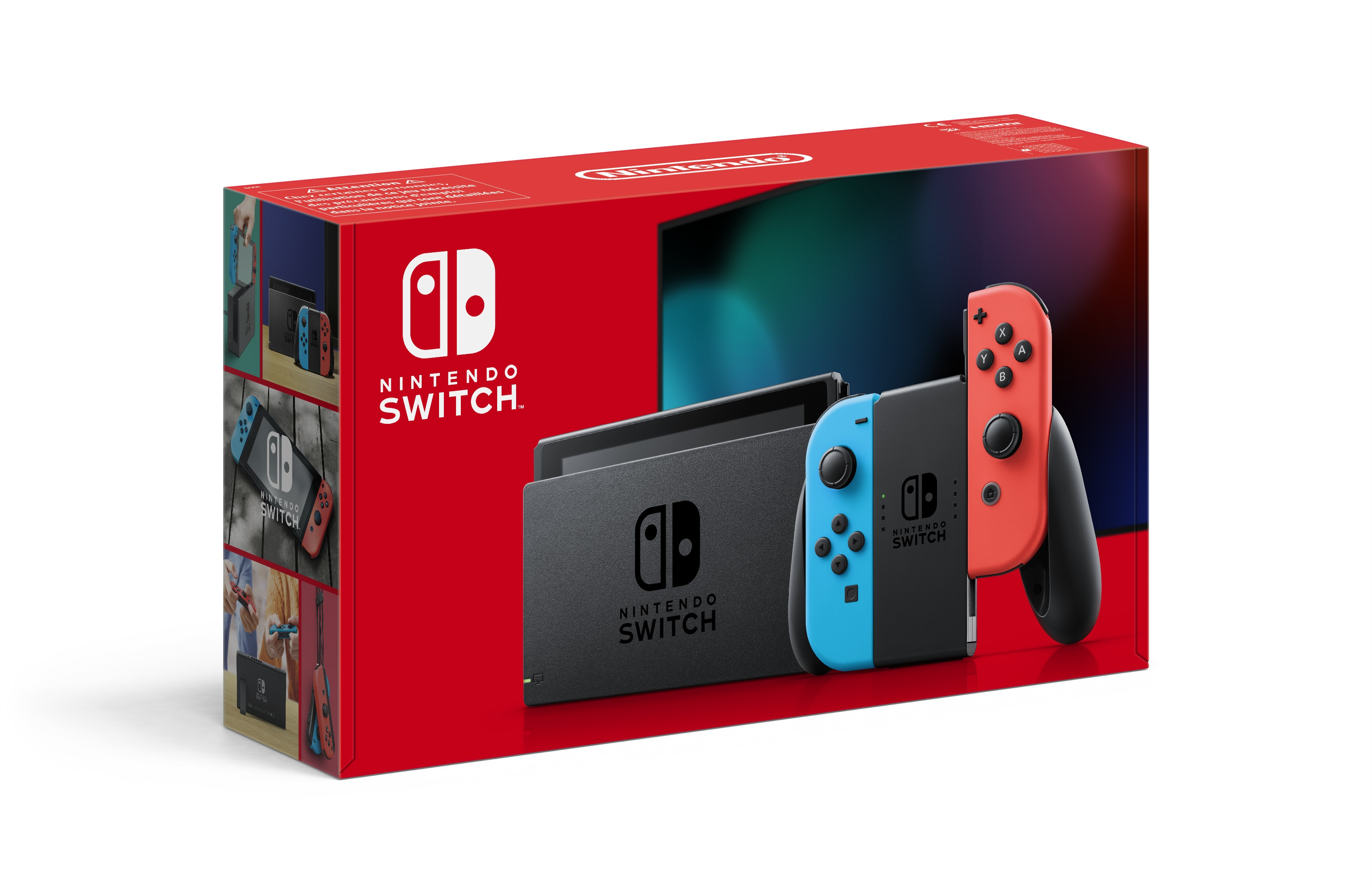 Nintendo Switch Console - Blauw/Rood