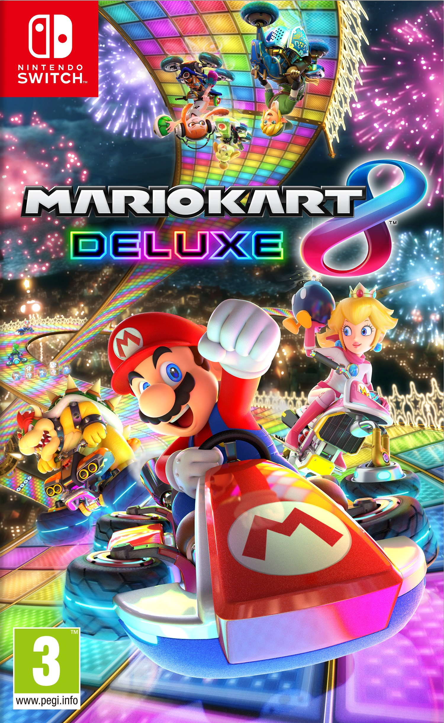 Mario Kart 8 DeLuxe - Nintendo Switch - (Fysieke Game)