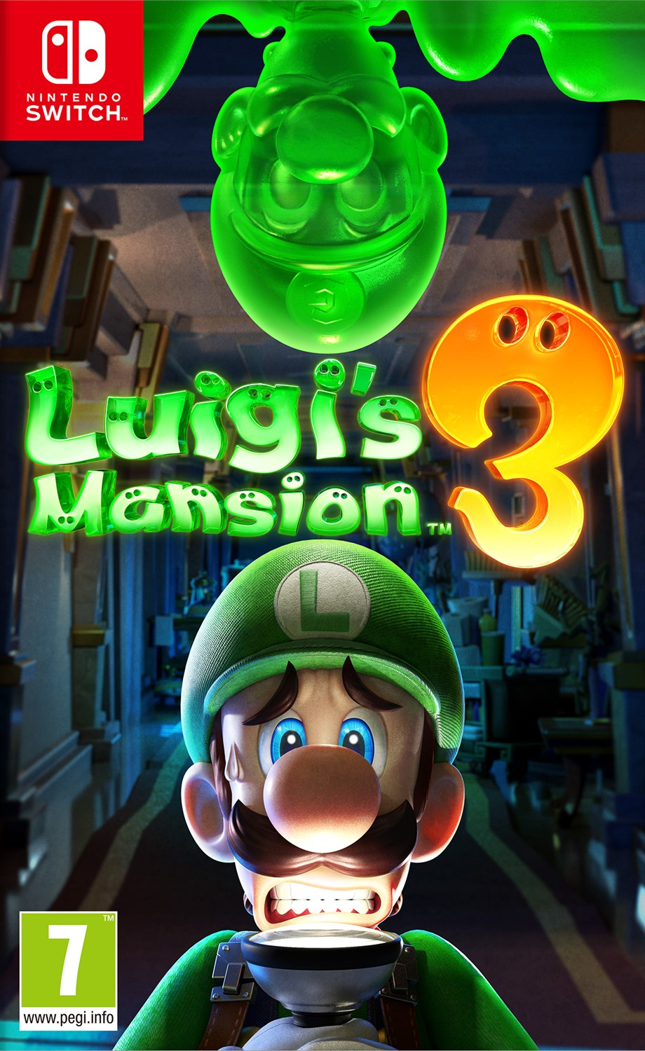 Luigi's Mansion 3 - Nintendo Switch - (Fysieke Game)