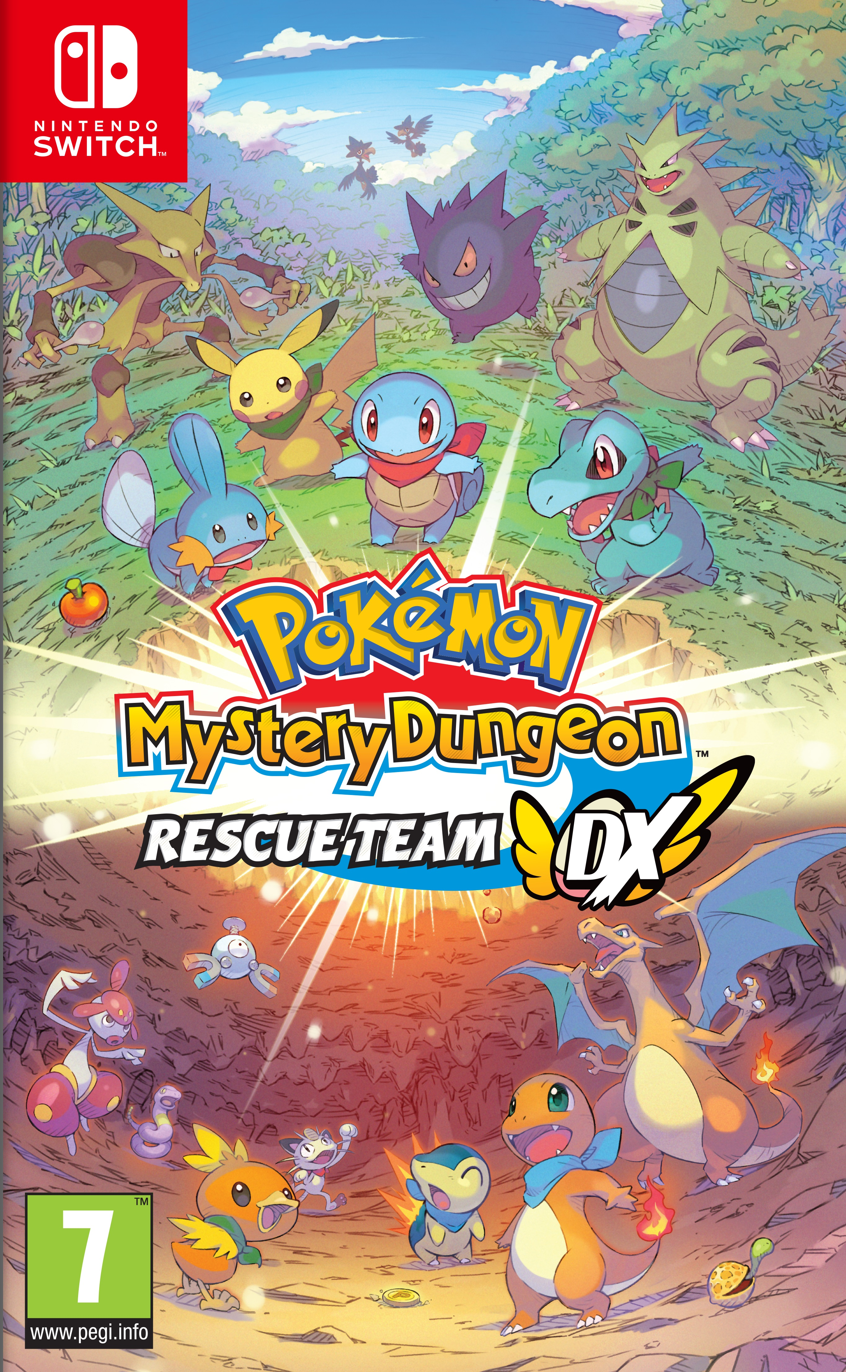 Pokemon Mystery Dungeon: Rescue Team DX - Nintendo Switch - (Fysieke Game)