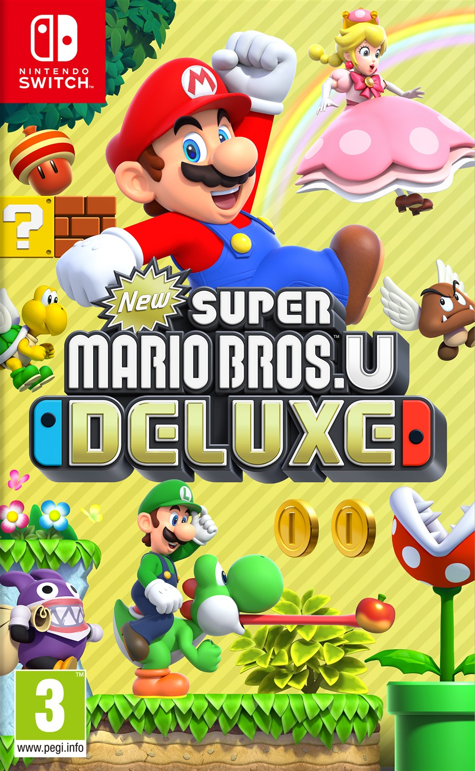 New Super Mario Bros. U Deluxe - Nintendo Switch - (Fysieke Game)