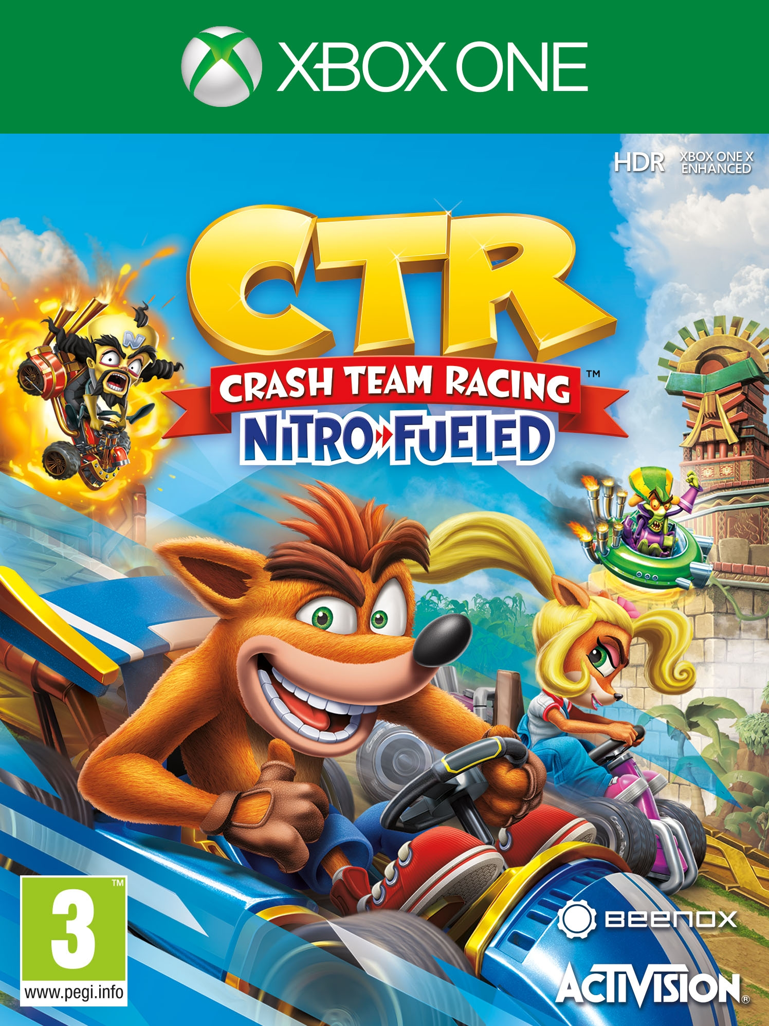 Crash Team Racing Nitro-Fueled - Xbox One (Fysieke Game)
