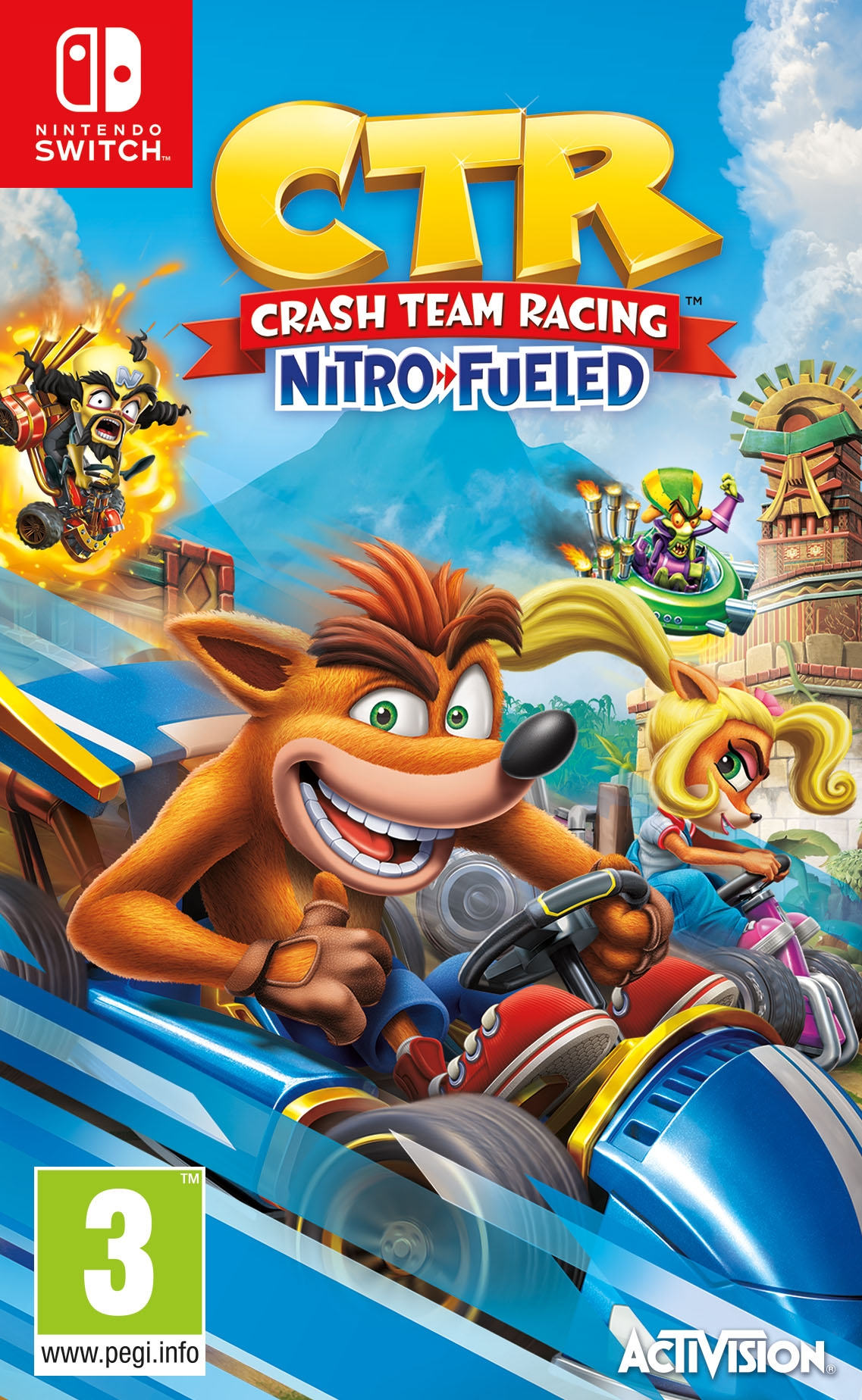 Crash Team Racing Nitro-Fueled - Nintendo Switch - (Fysieke Game)