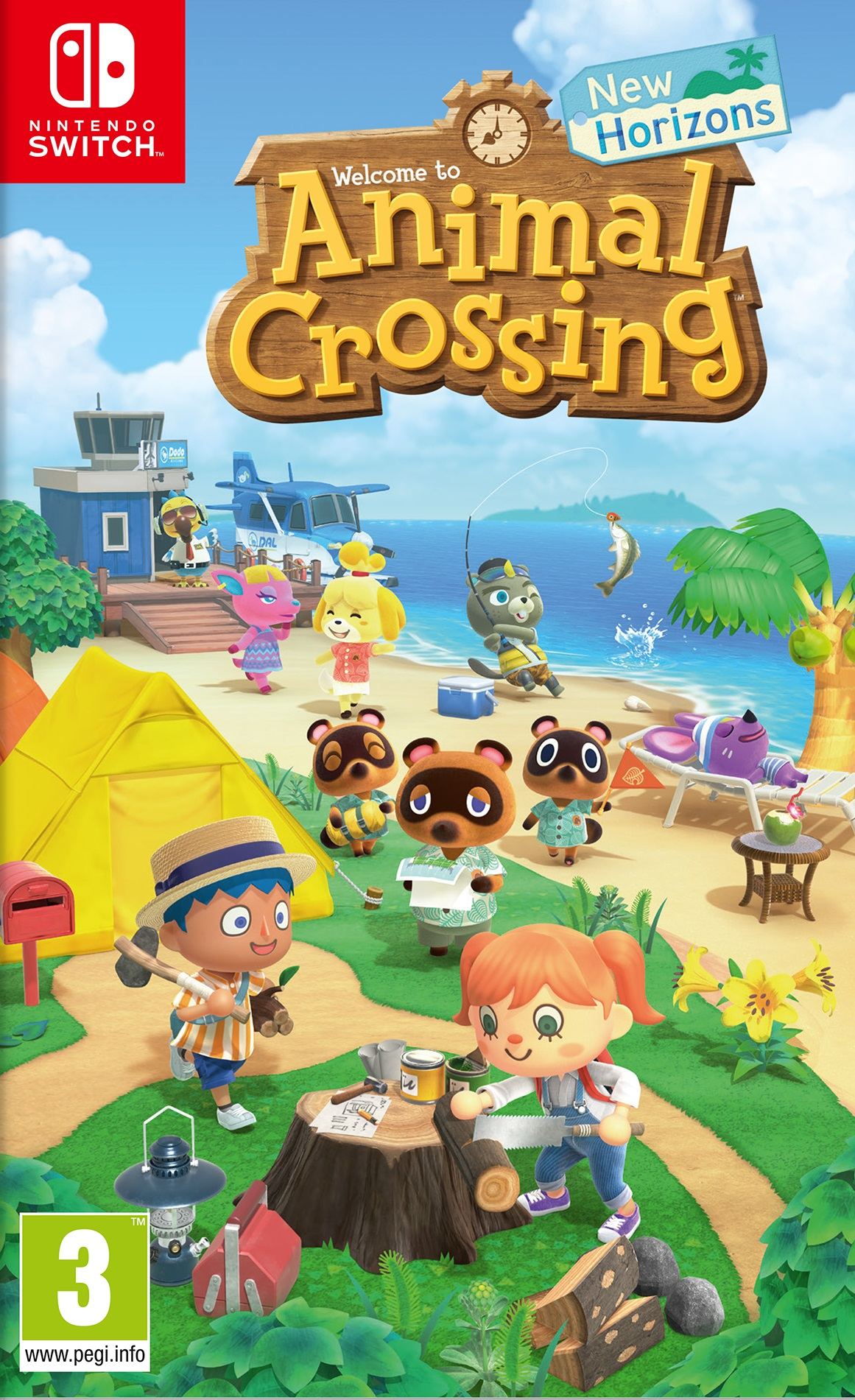 Animal Crossing: New Horizon - Nintendo Switch (Fysieke Game)