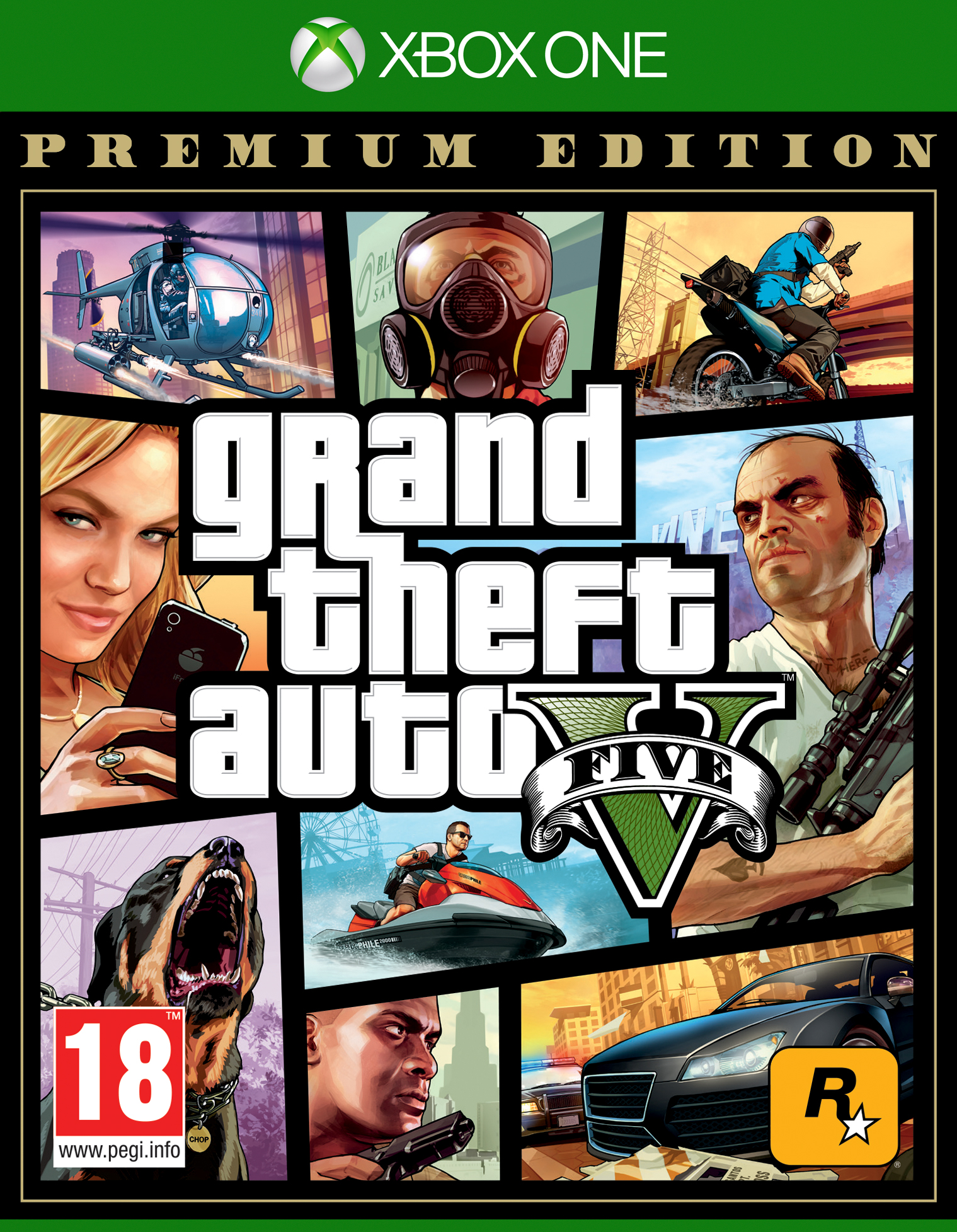 Grand Theft Auto 5 (GTA V): Premium Edition - Xbox One (Fysieke Game)