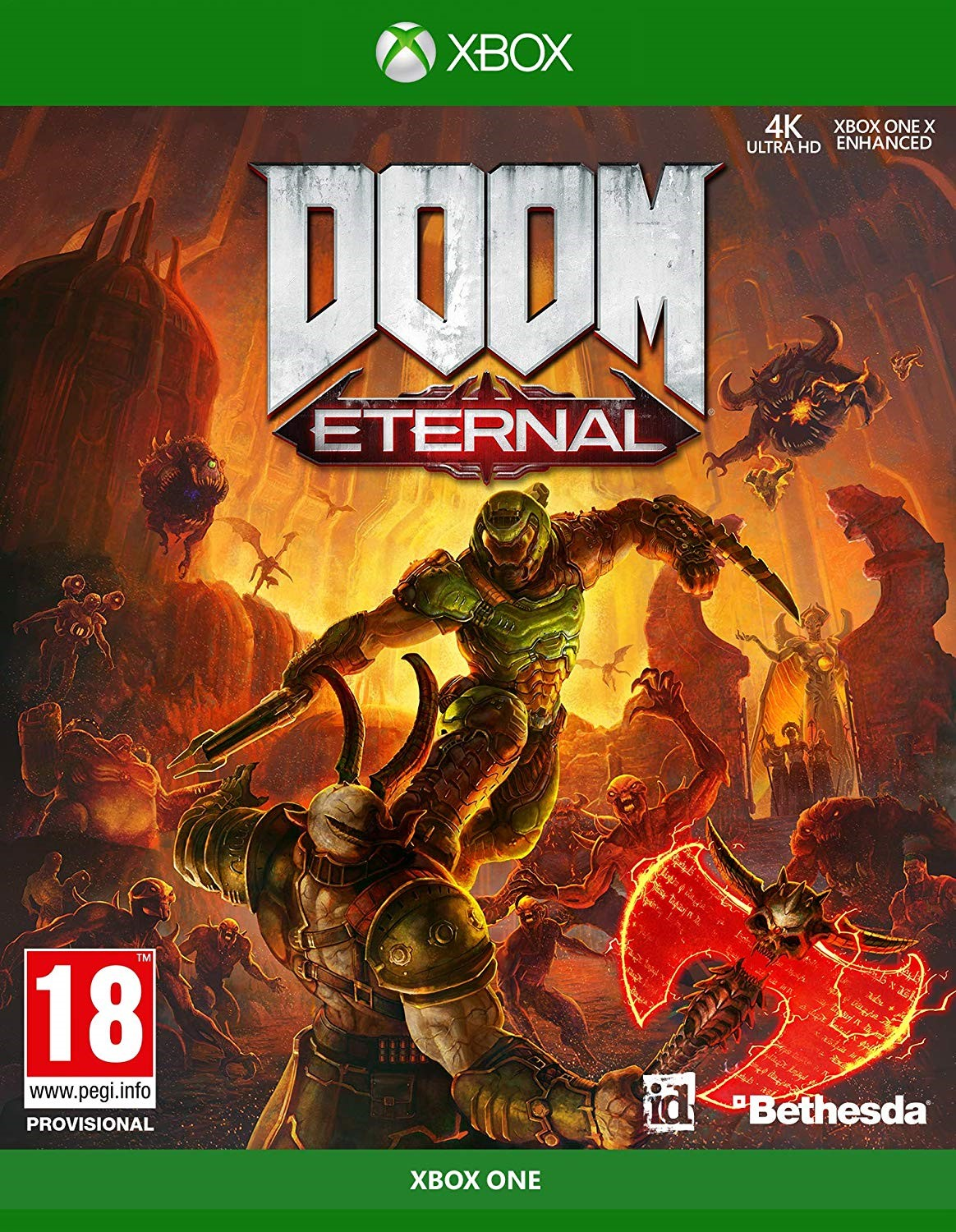 Doom Eternal  - Xbox One (Fysieke Game)