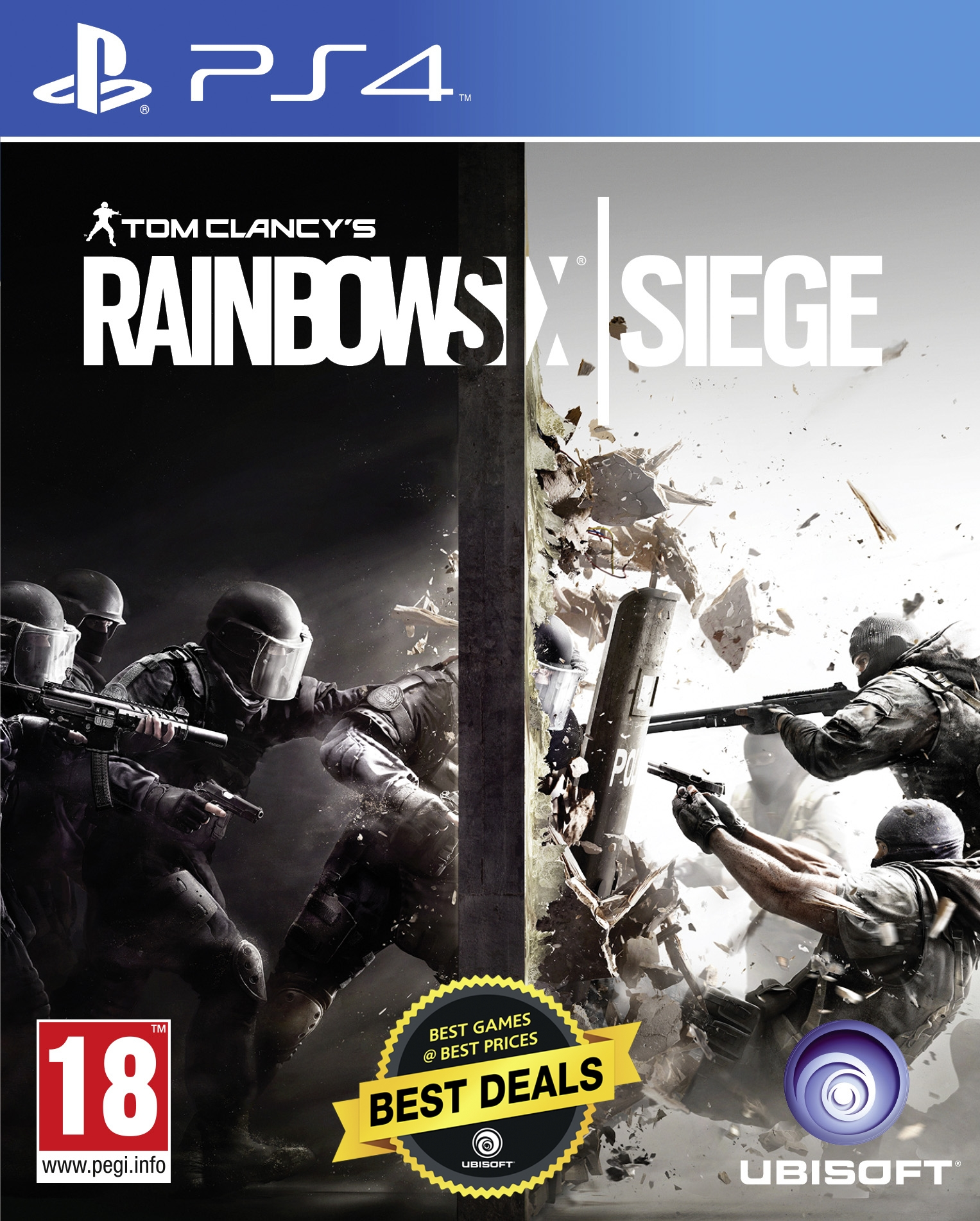 Tom Clancy's Rainbow Six: Siege - PS4 (Fysieke Game)