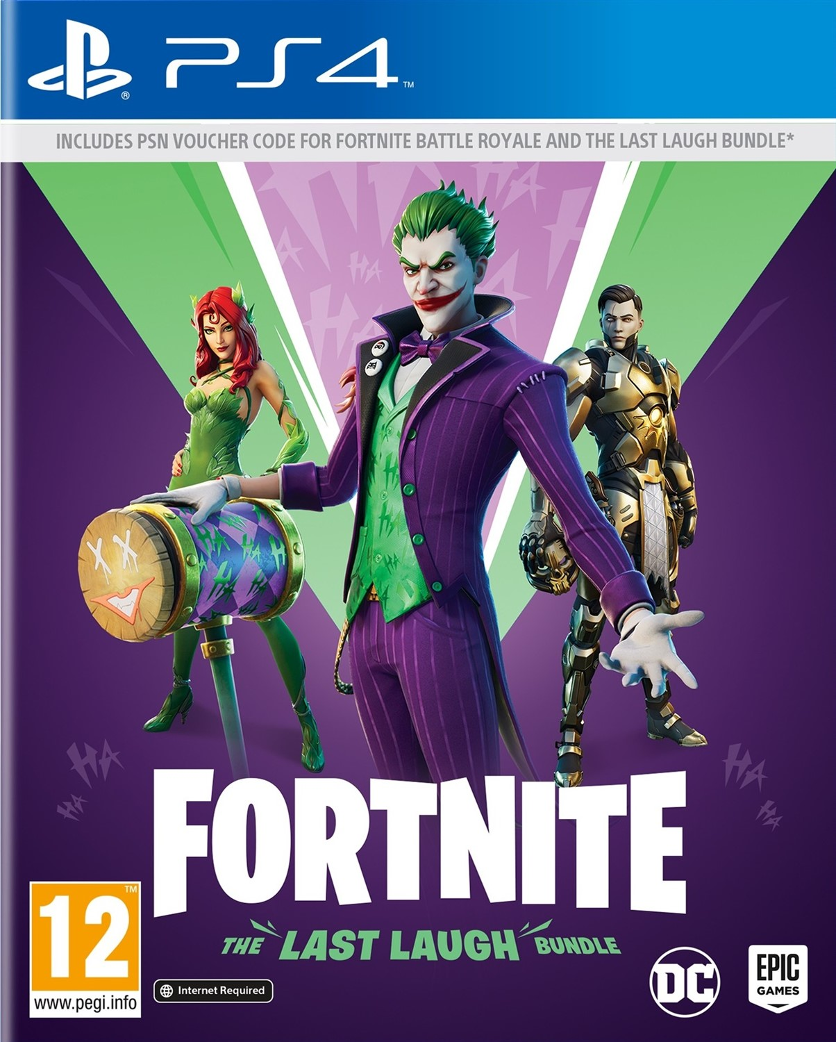 GamesDirect® Fortnite: The Last Laugh Bundle (PS4)