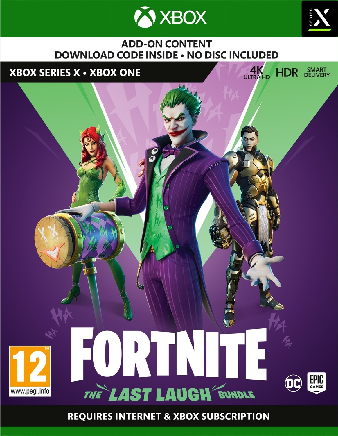 Fortnite: The Last Laugh Bundle (Xbox Series X/Xbox One)