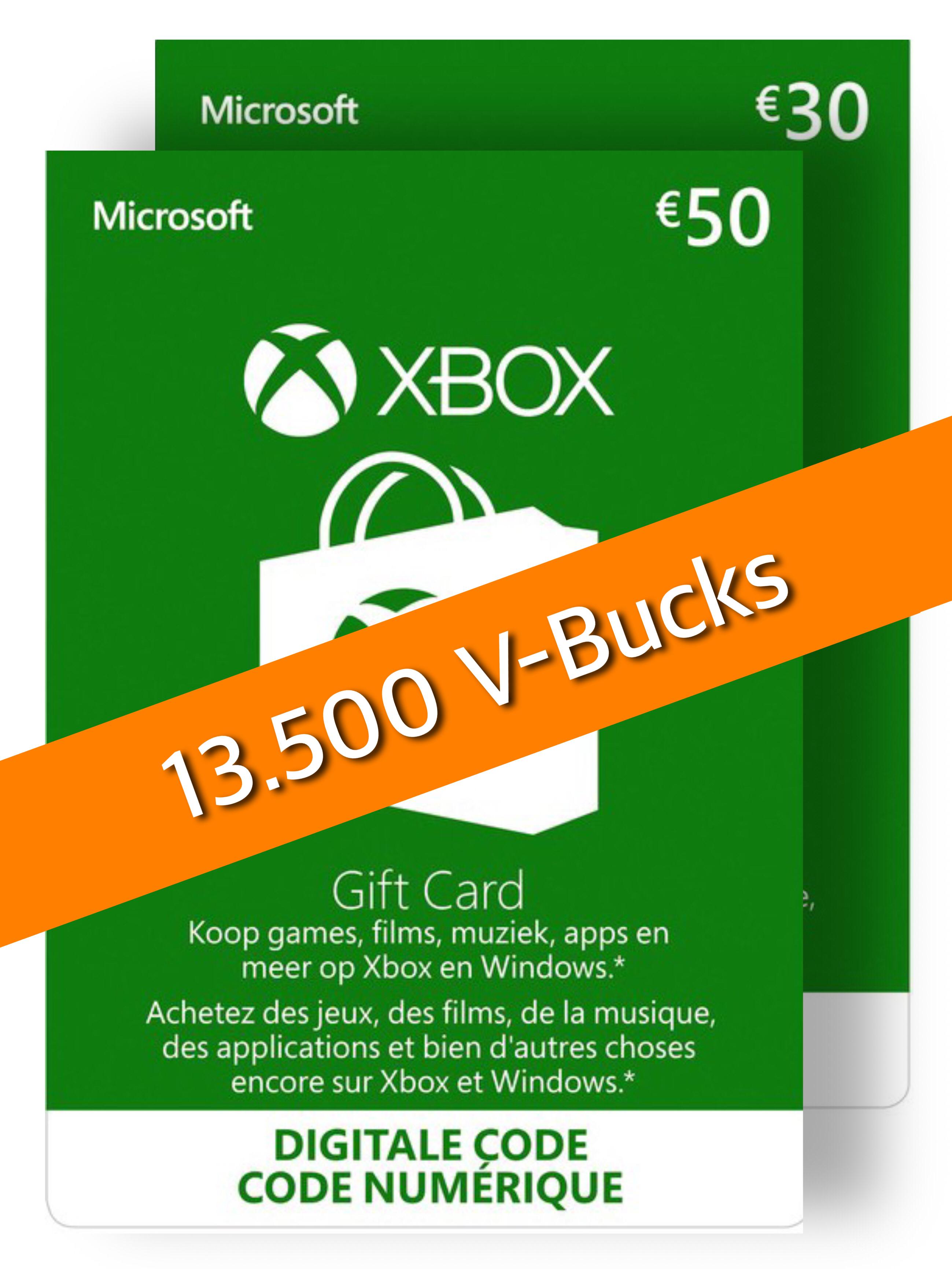 13500 Xbox Fortnite V-Bucks