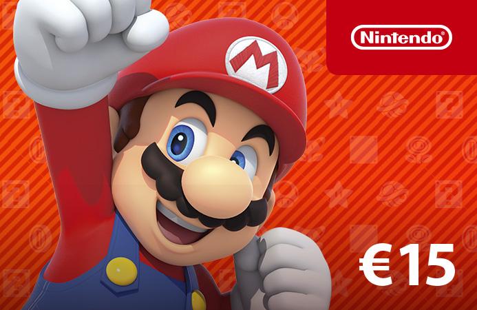 Nintendo eShop Card €15 Nederland