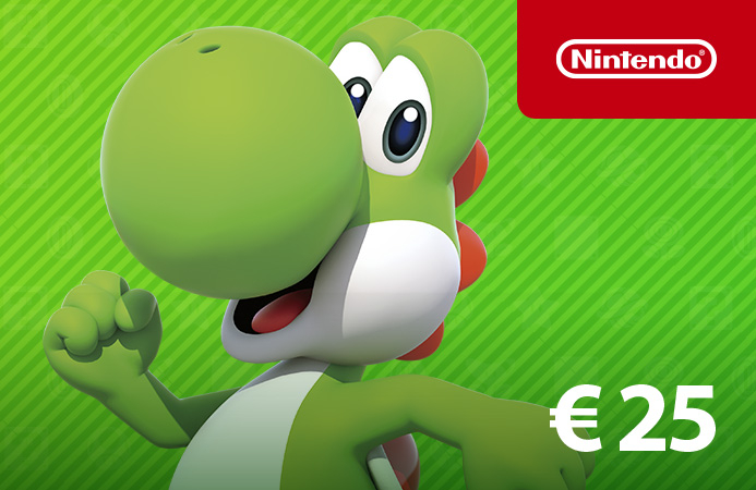 Nintendo eShop-Card €25 Nederland