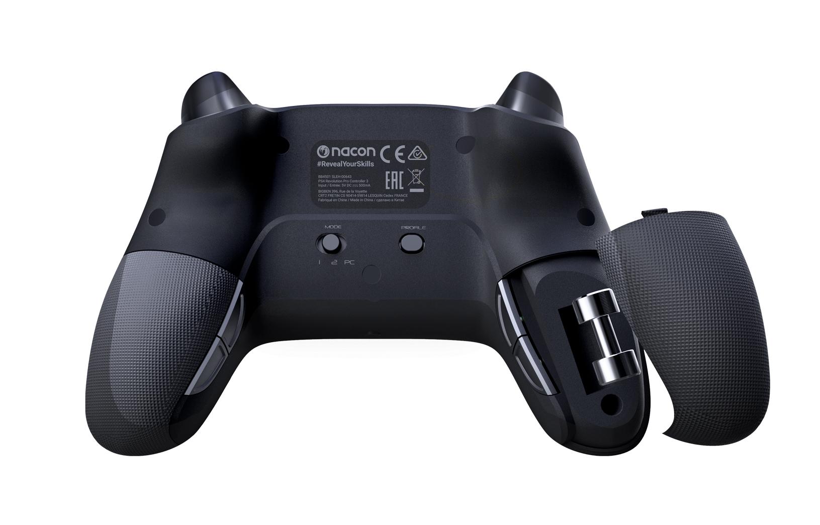 PS4/PC Nacon Revolution Pro 3 Bedrade Controller - Zwart