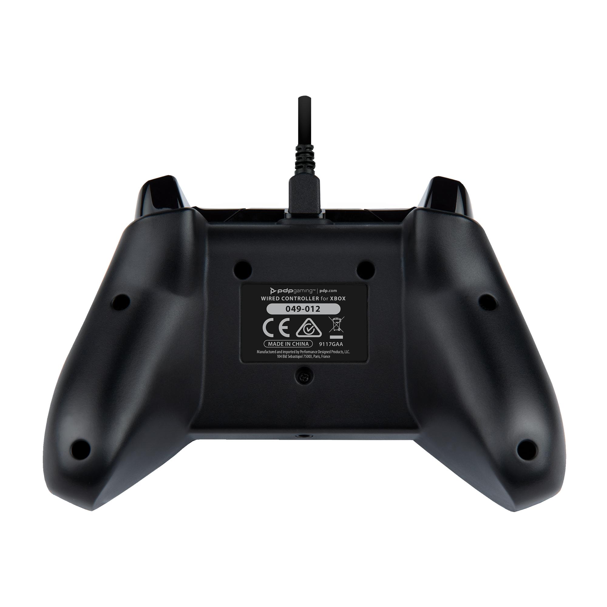 Xbox Series X /Xbox One / PC PDP Bedrade Controller: Camo - Zwart - GamesDirect®