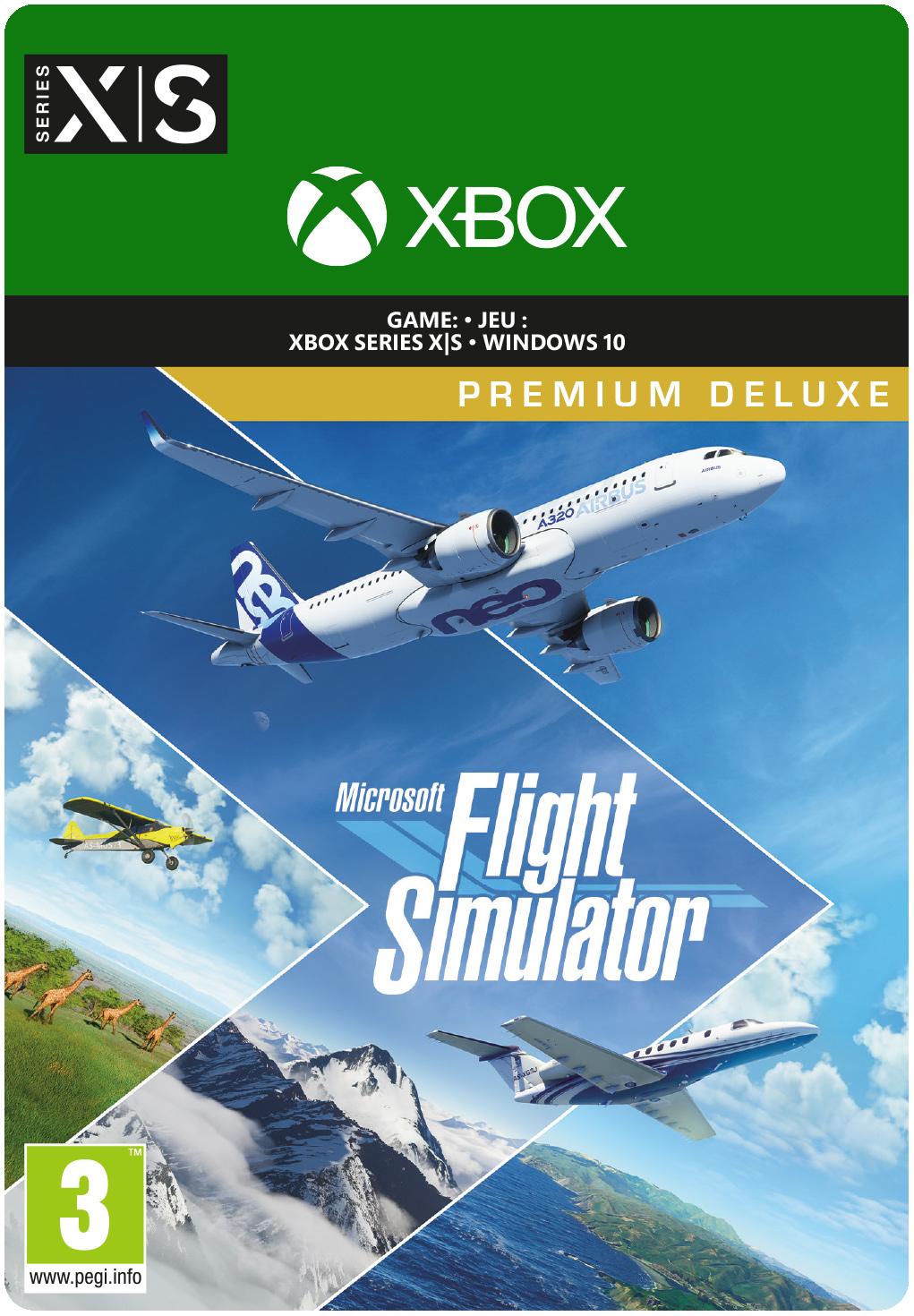 Microsoft Flight Simulator: Premium Deluxe Edition - Xbox Series X/S / PC (Digitale Game)