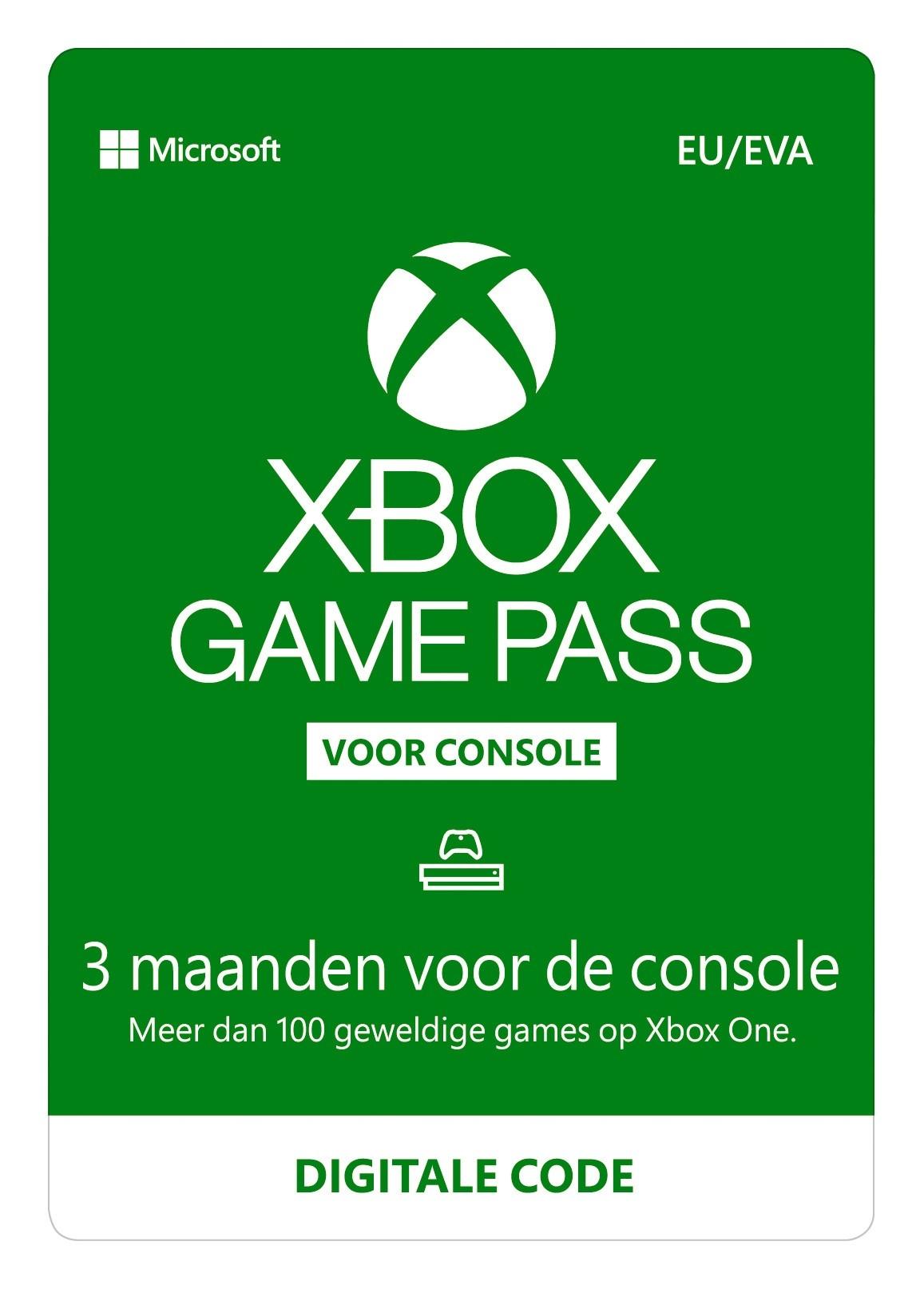 Xbox Game Pass 3 maanden - GamesDirect®