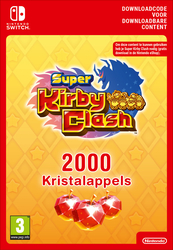 Nintendo Super Kirby Clash 2000 Gem Apples