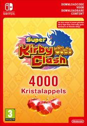 4000 Nintendo Super Kirby Clash Gem Apples