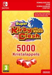 5000 Nintendo Super Kirby Clash Gem Apples