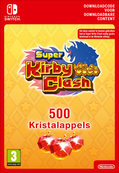 500 Nintendo Super Kirby Clash Gem Apples