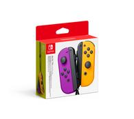 Nintendo Switch Joy-Con Draadloze Controller Set - Neon Purple/Neon Orange - GamesDirect®