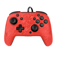Nintendo Switch PDP Faceoff Deluxe + Audio Bedrade Controller - Rood