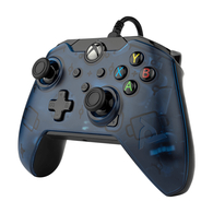 Xbox Series X /Xbox One / PC PDP Bedrade Controller - Blauw