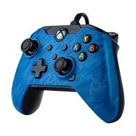 Xbox Series X /Xbox One / PC PDP Bedrade Controller - Camo/Blauw