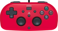Hori Wired Mini Controller - Red (PS4)