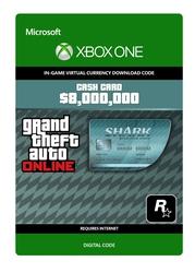 Megalodon Shark Xbox GTA Card - Direct Digitaal Geleverd