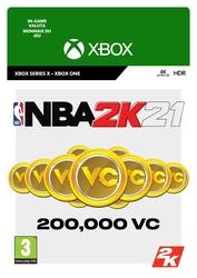 200.000 Xbox NBA 2K 21 VC