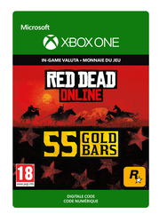 55 Xbox Gold Bars Red Dead Online