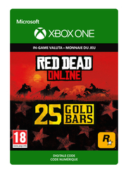 25 Xbox Gold Bars Red Dead Online