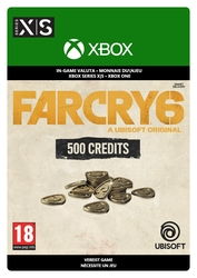 500 Credits Xbox Far Cry® 6 Virtual Currency Base Pack