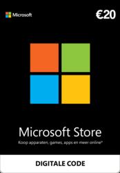 Microsoft Gift Card 20 euro