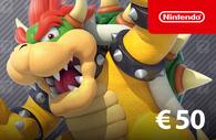Nintendo eShop Card €50 Nederland